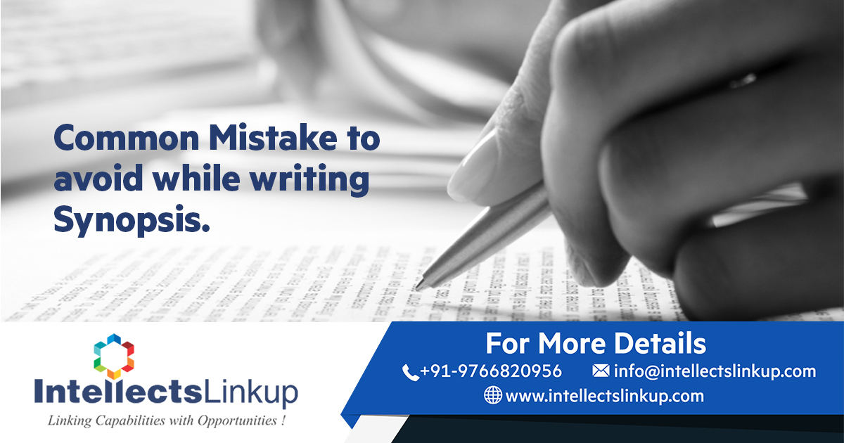 Synopsis writing mistakes to be avoided