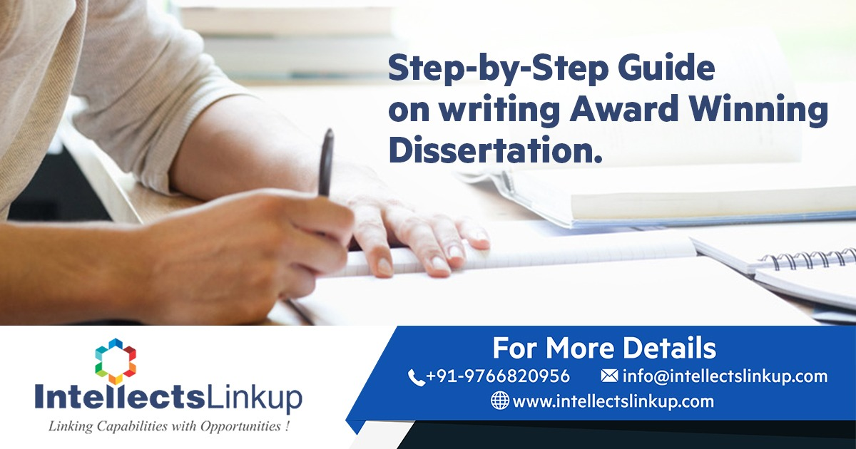 Step-by-Step Guide on writing Award Winning Dissertation