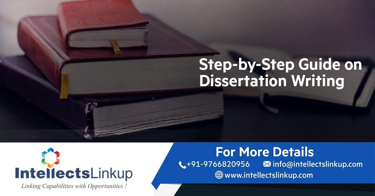 Dissertation Writing Service's Step by Step Guide