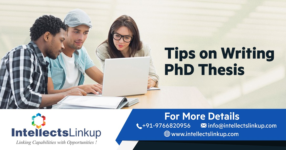 Tips on Writing PhD Thesis