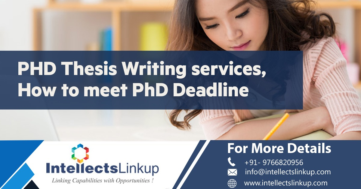 PhD Thesis Writing