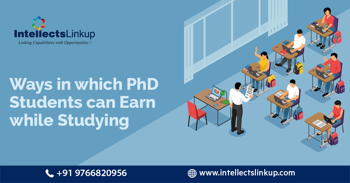 phd student can earn while studying