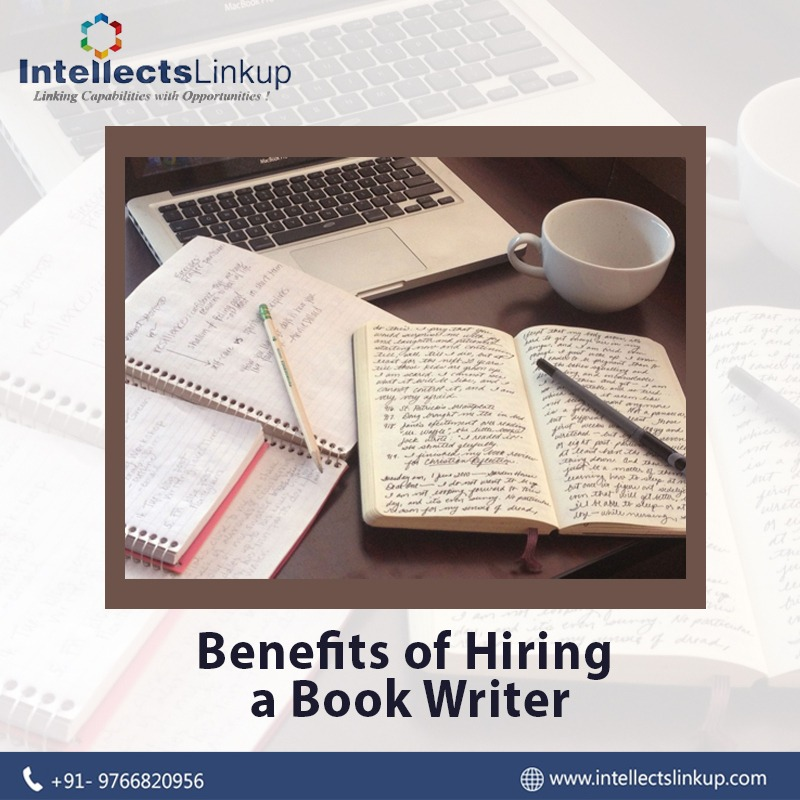 Benefits of Hiring a Book Writer
