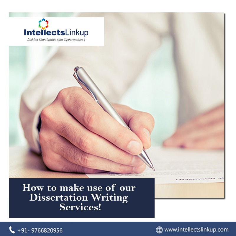 How To Make Use Of Our Dissertation Writing Services!