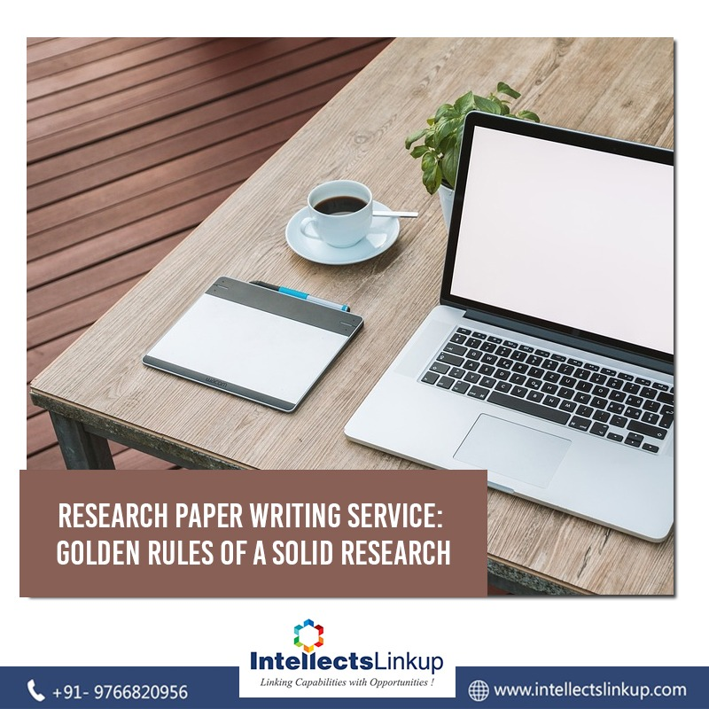 Research paper writing service: Golden rules of a solid research